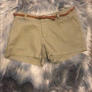 BeBop Green Shorts
